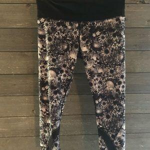 Floral Lululemon leggings